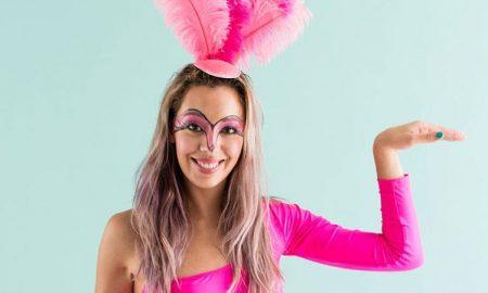 Flamingo Kostüm tolle Idee für Damen