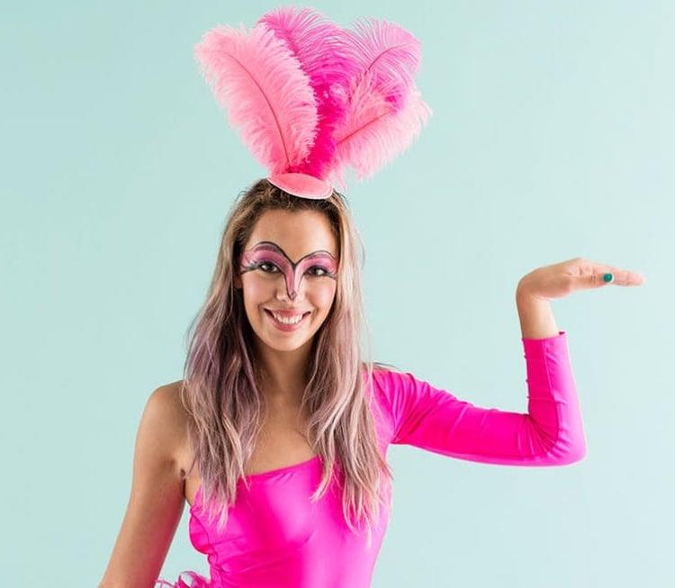 Flamingo Kostum Zum Karneval Originelle Ideen Und Anleitungen