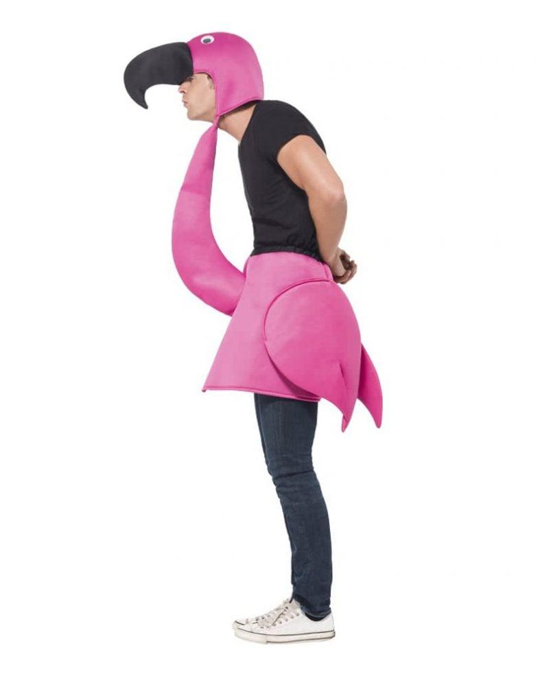 Flamingo Kostüm Mann lustig