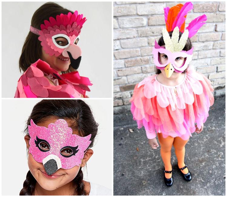 Flamingo Kostüm Kind witzig