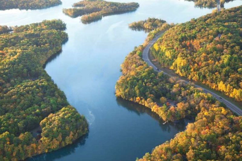 USA Rundreise der Fluss Mississippi