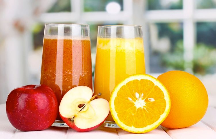 Erfrischungsgetränk Fruchtsaft