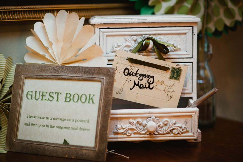 Gästebuch Hochzeit gestalten originelle Designideen