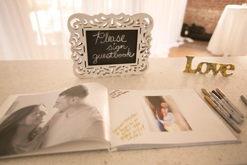 Gästebuch Hochzeit gestalten Fotoalbum herrliche Idee