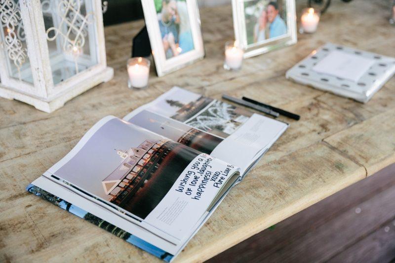 Gästebuch Hochzeit gestalten Fotos Gläckwänsche