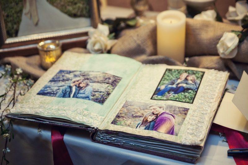 Gästebuch Hochzeit gestalten Fotoalbum