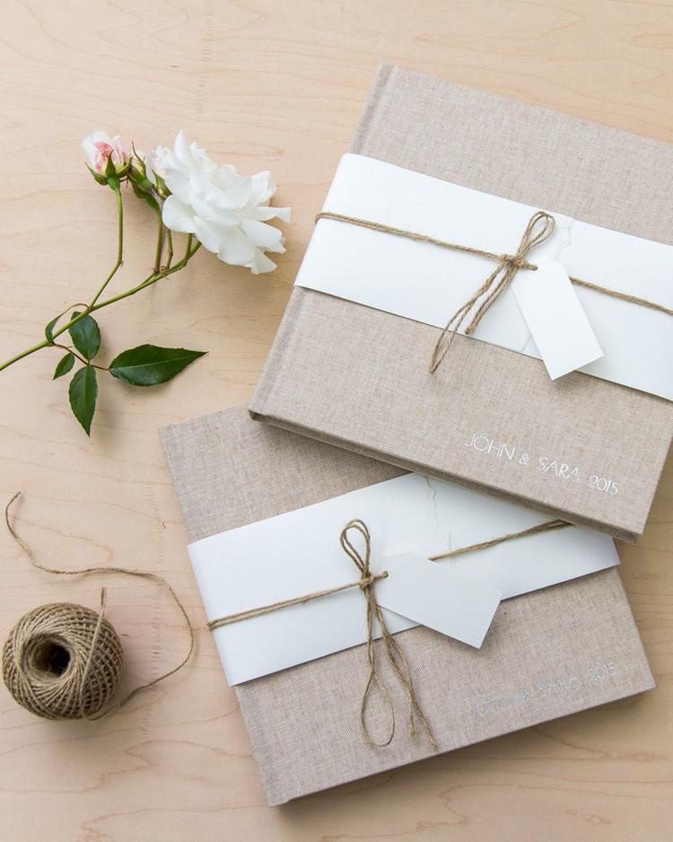 Gästebuch Hochzeit gestalten individuell