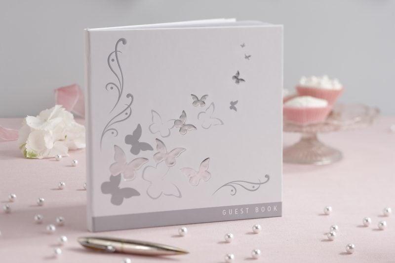 Gästebuch Hochzeit gestalten tolle Dekoideen