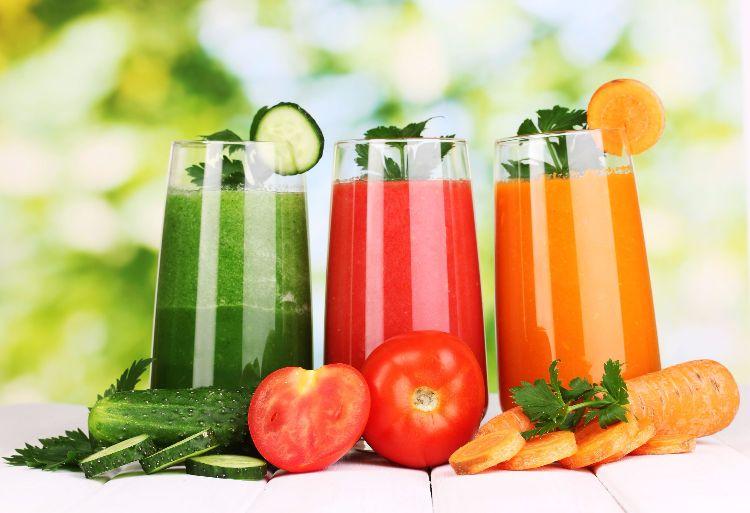 Erfrischungsgetränk Gemüsesaft
