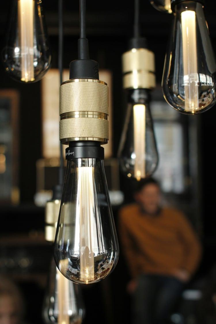 Lampe Glühbirne LED Stab Harz