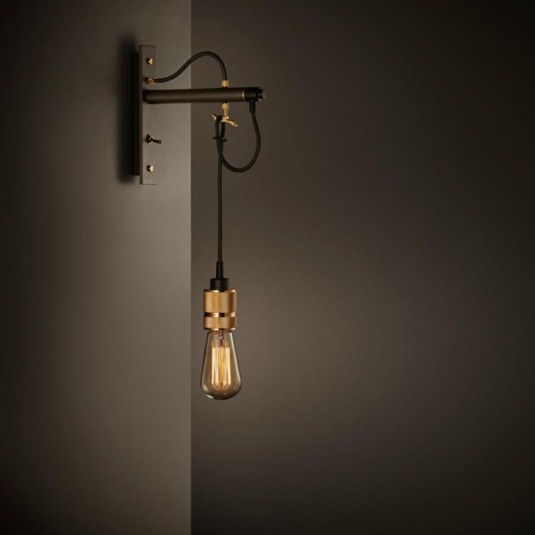 Lampe Glühbirne originelle Pendelleuchte