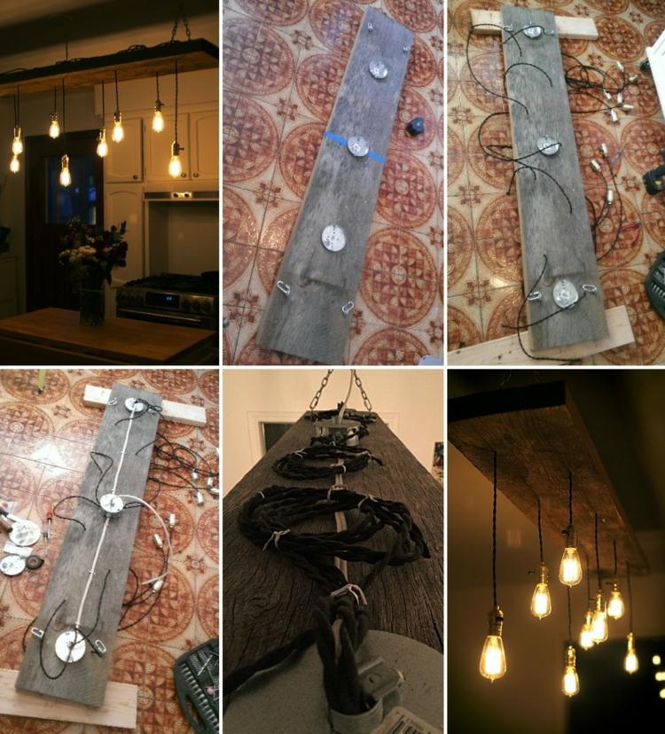 Lampe Glühbirne Gestaltung originell