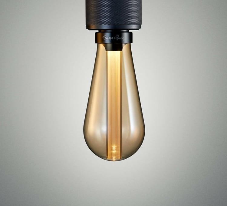 Lampe Glühbirne LED elegant Leuchtstab Harz