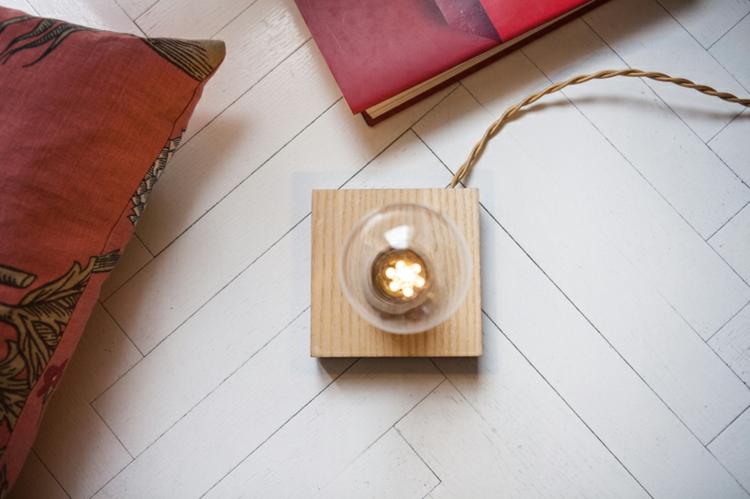 Lampe Glühbirne Magnet herrliche Tischlampe
