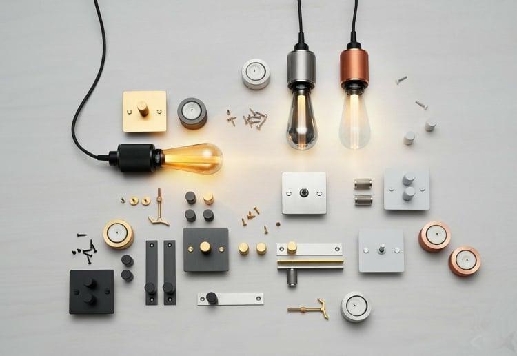 Lampe Glühbirne moderne Ideen Innendesign