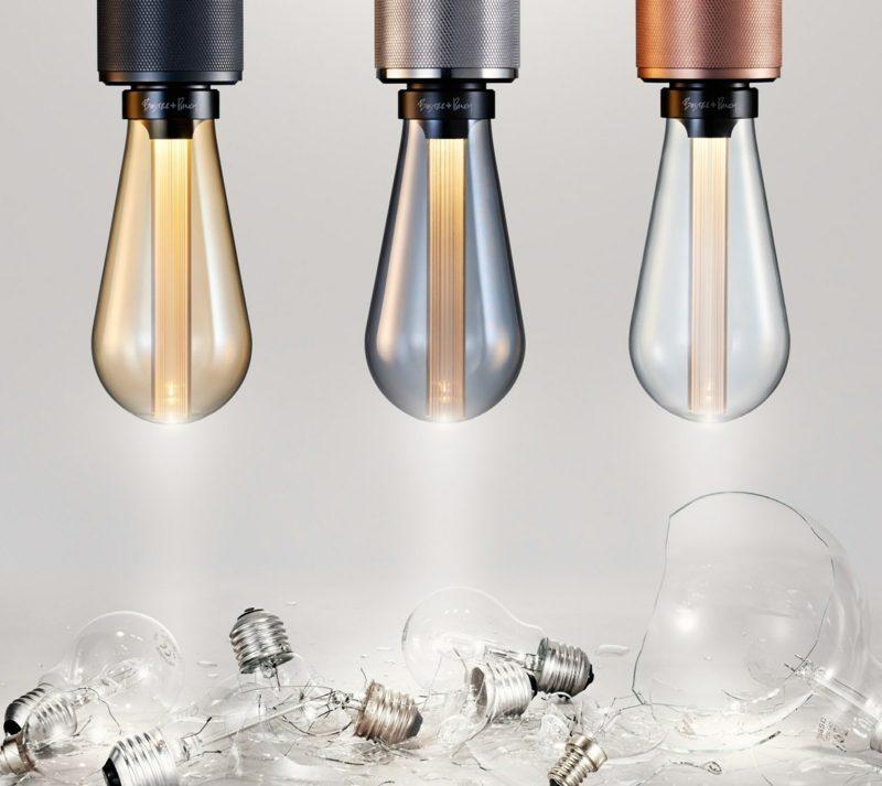Lampe Glühbirne herrlicher Look Strahl nach unten
