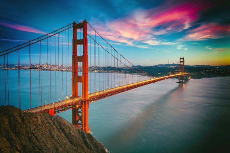 USA Rundreise Golden Gate Brücke