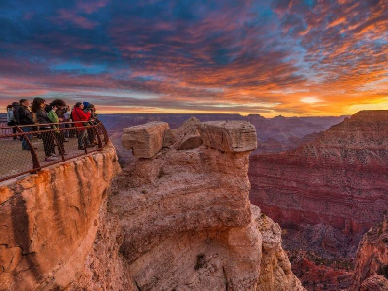 USA Rundreise Grand Canyon Aussichten