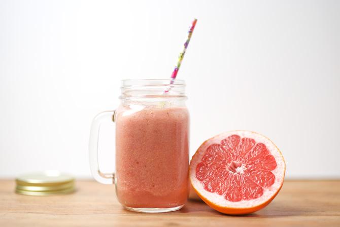 Erfrischungsgetränk Grapefruit nach Sport