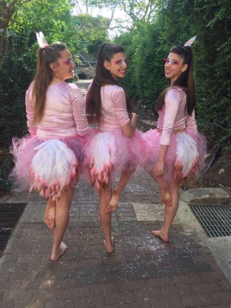 Flamingo Kostüm Freundinnen Fasching