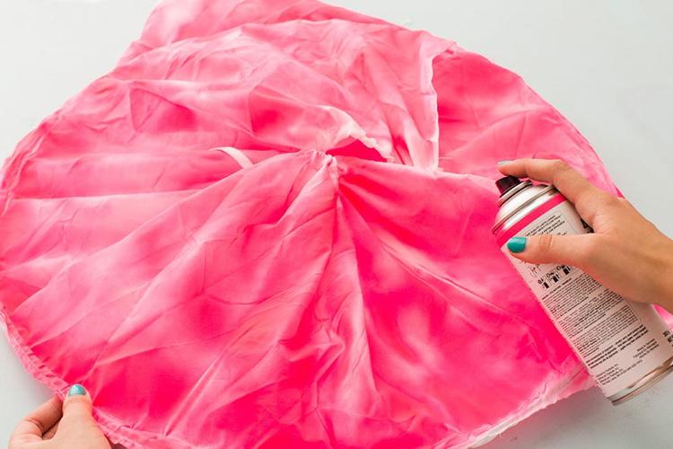 Flamingo Kostüm selber machen Reifrock
