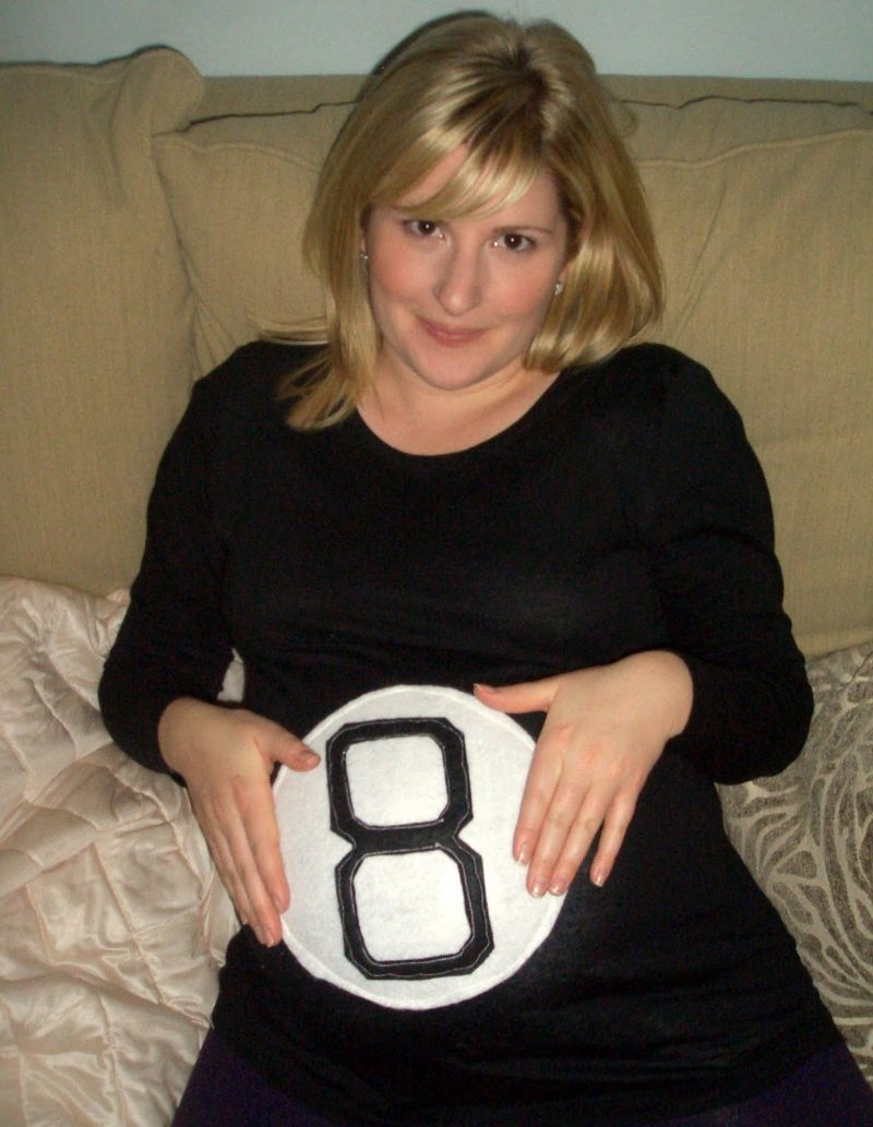 Kostüm für Schwangere Fasching Halloween Ball