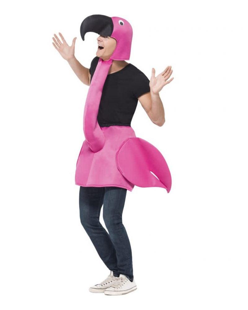 Flamingo Kostüm witzige Idee für Männer