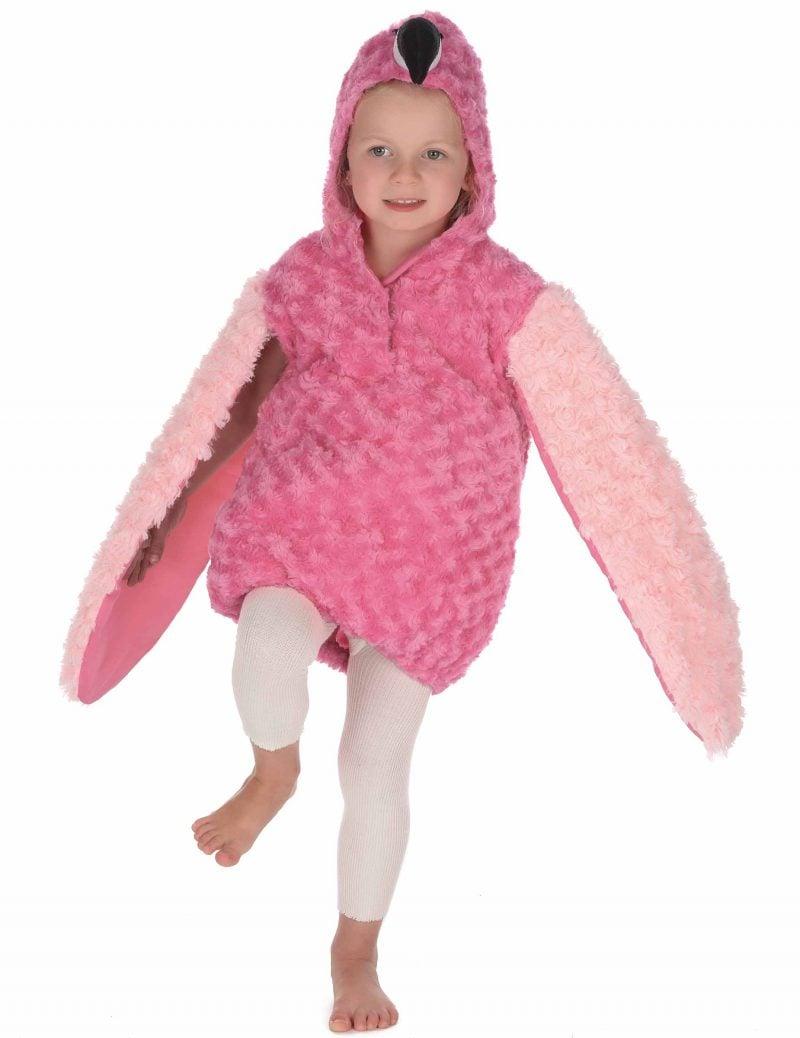 Flamingo Kostüm Plüsch Kind