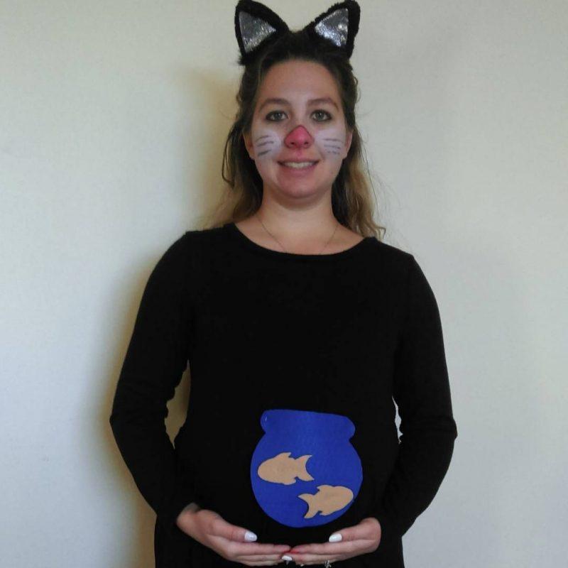 Kostüm für Schwangere Aquarium