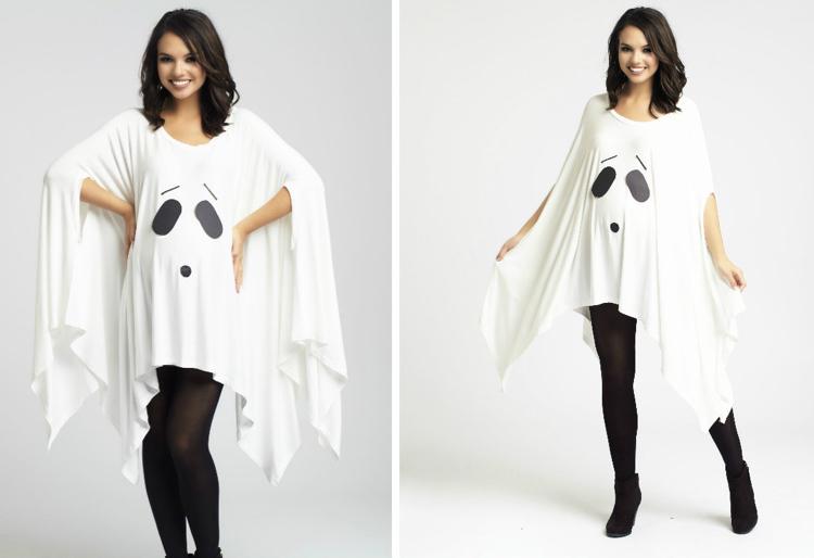 Kostüm für Schwangere Tunika lang Gespenst
