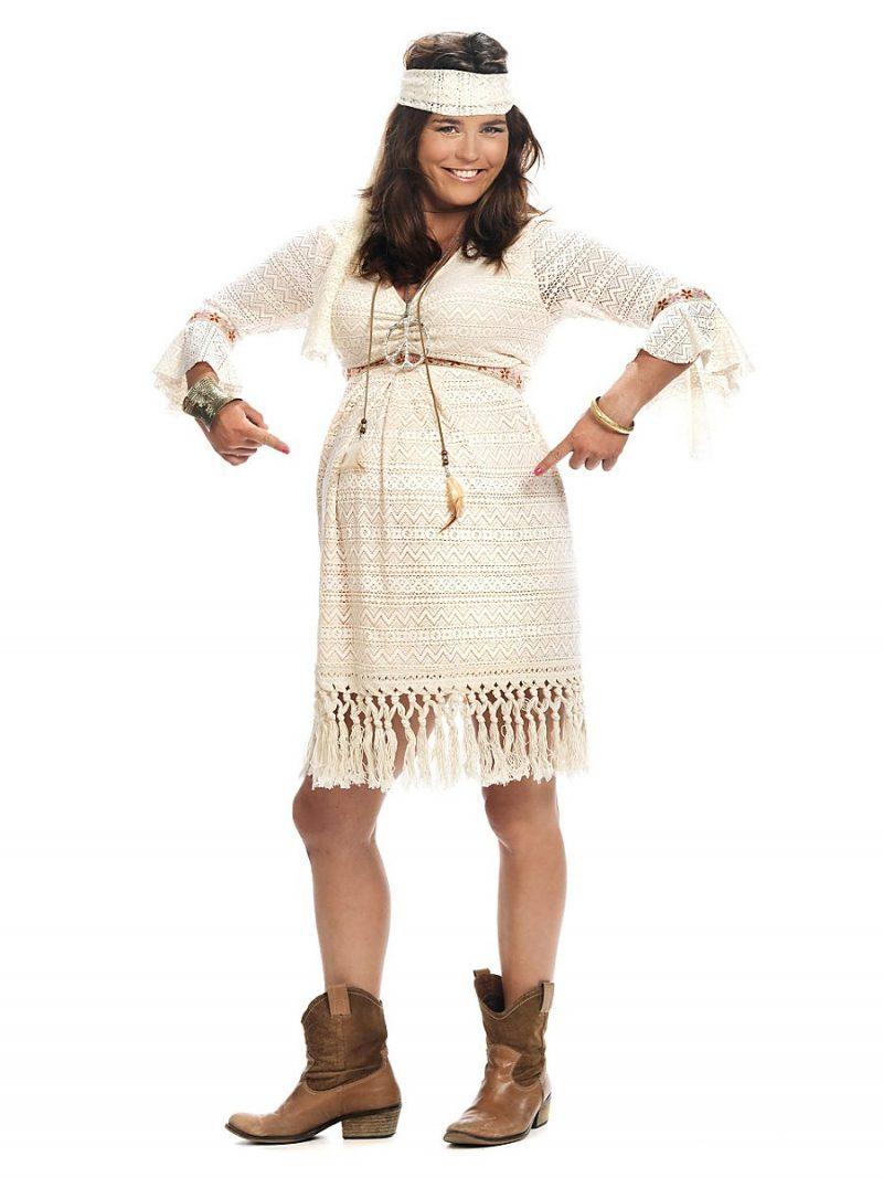 Kostüm für Schwangere Fasching Indianerin