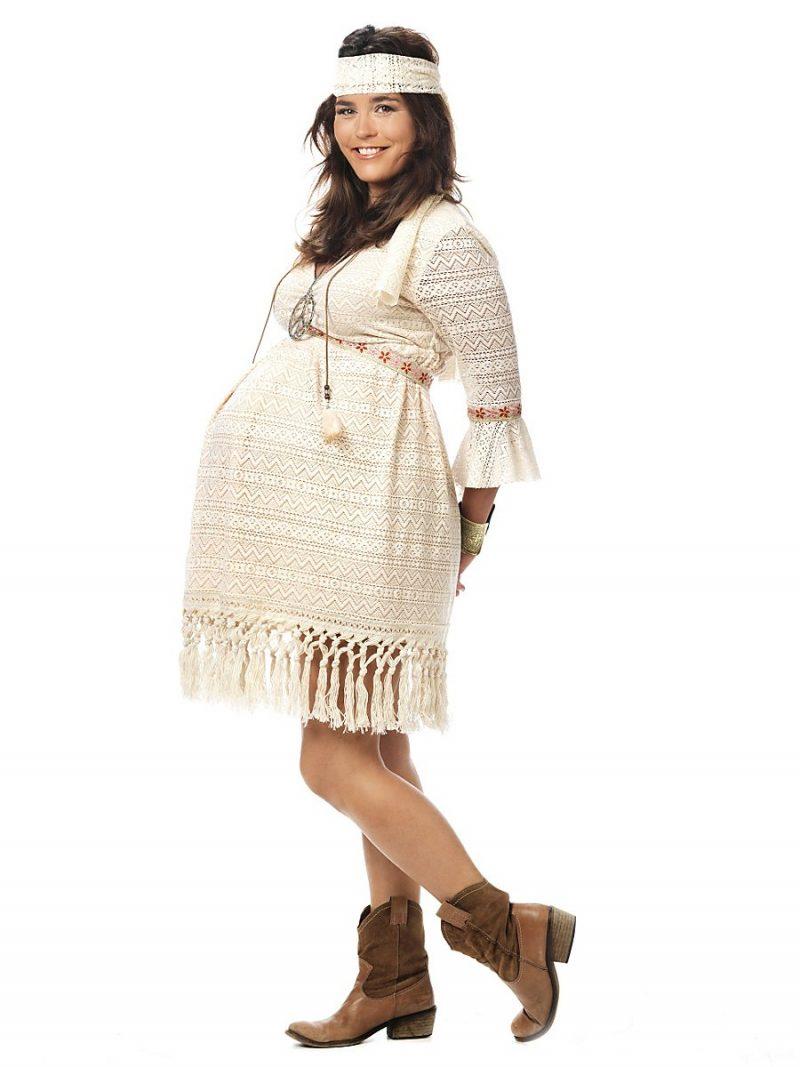 Kostüm für Schwangere Mama Indianerin