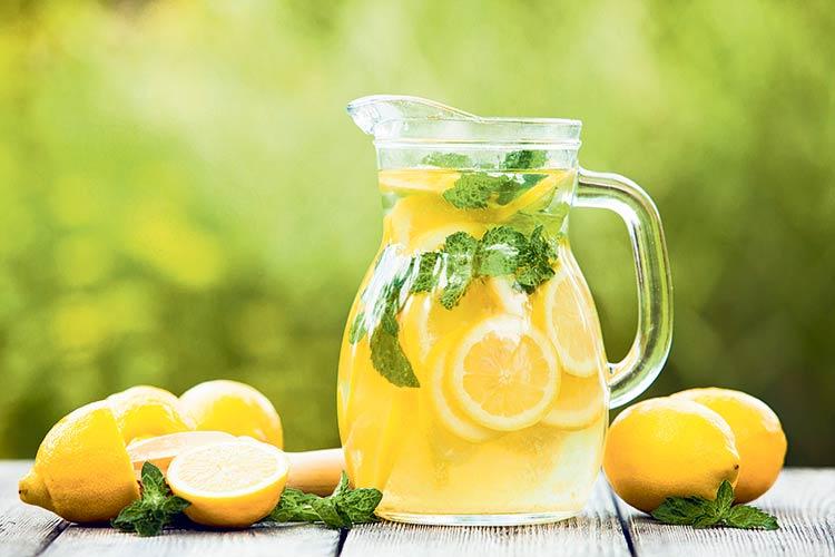 Erfrischungsgetränk selbstgemachte Limonade