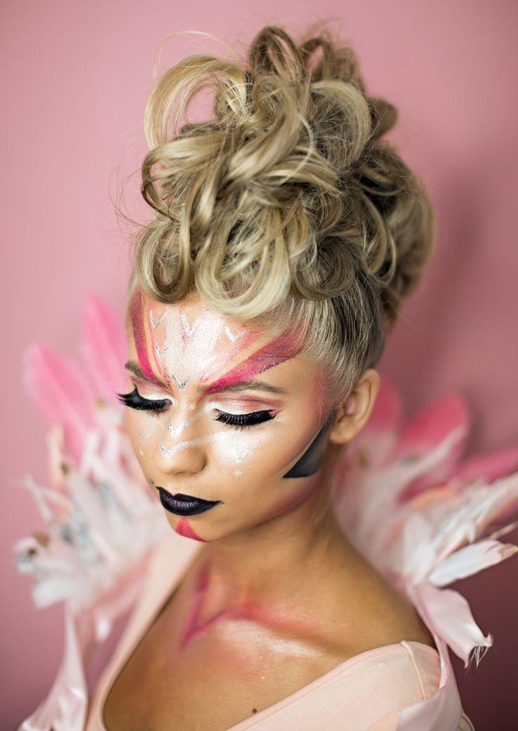 Flamingo Kostüm Faschng Schminktipps