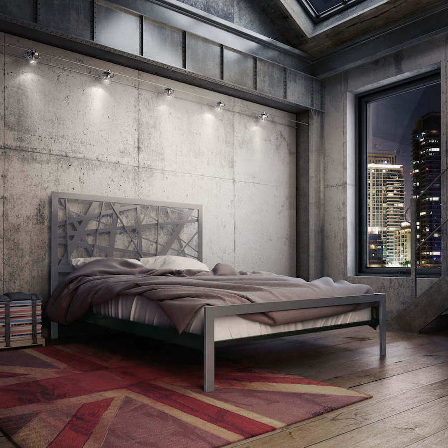 Metallbetten für Ihre Schlafzimmer in Urban Stil