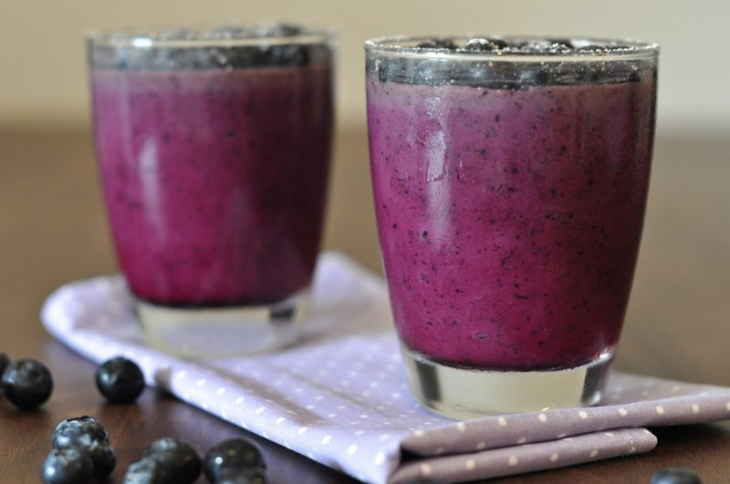 Erfrischungsgetränk Milchshake Beeren Rezept