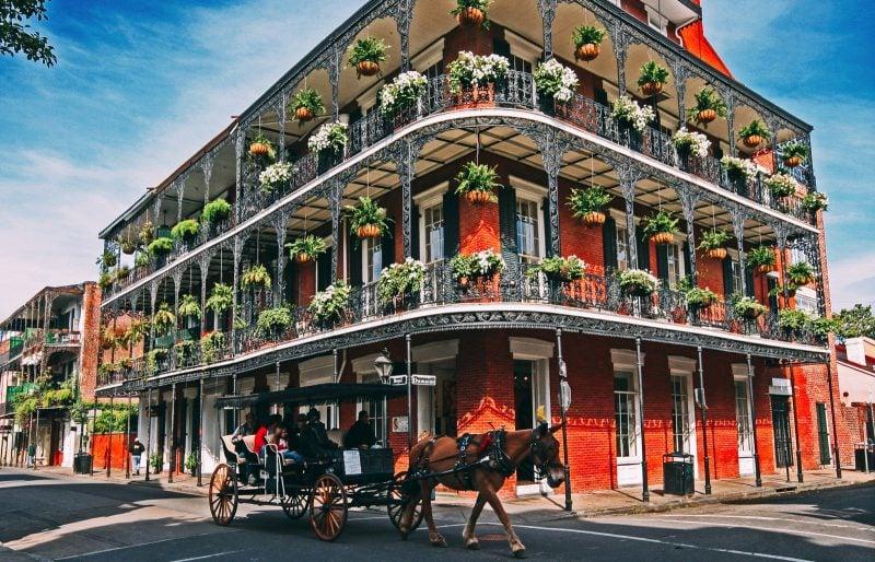 USA Rundreise New Orleans