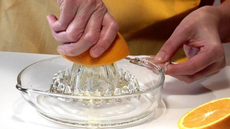 Erfrischungsgetränk Orangensaft