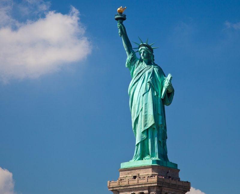 USA Rundreise die Freiheitsstatue