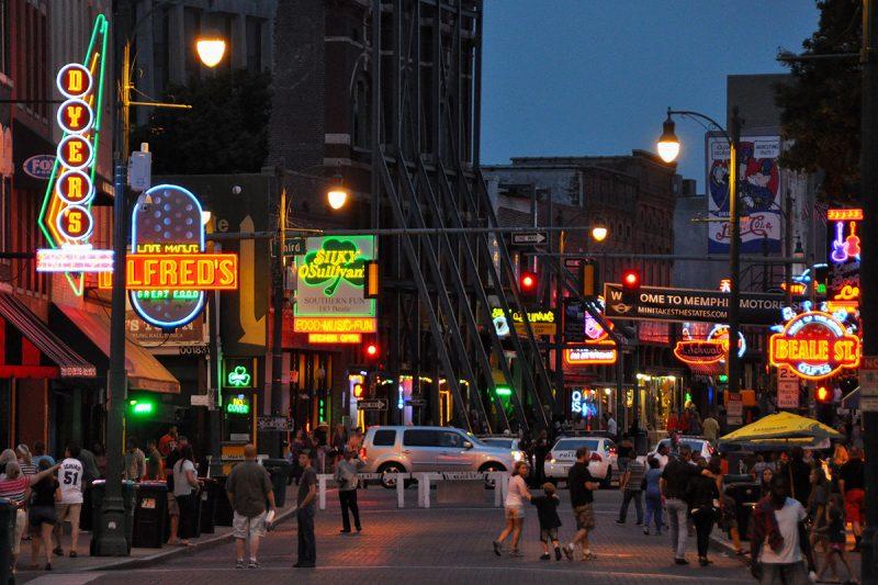 USA Rundreise Memphis