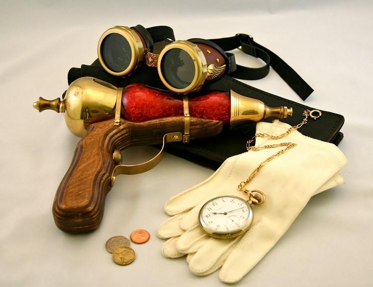 Steampunk Kleidung passende Accessoires