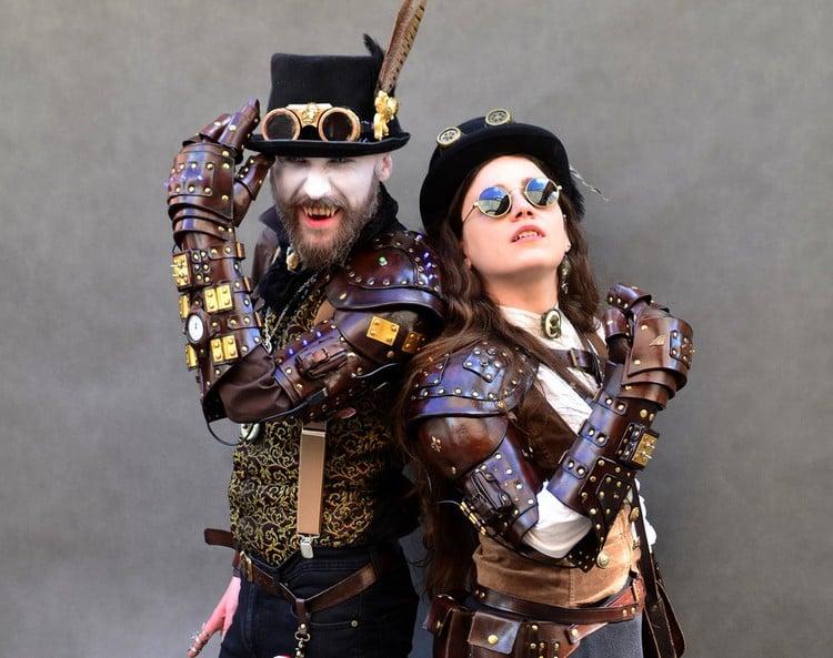 Steampunk Kleidung für beide Geschlechter