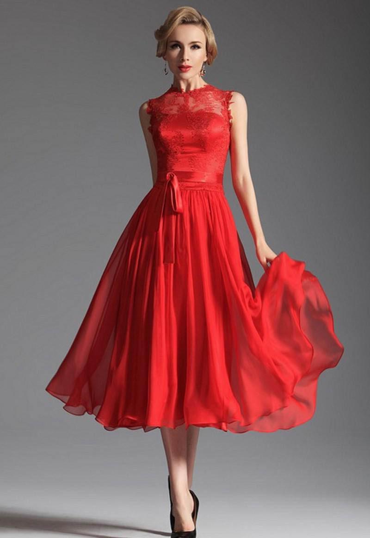 Diese Abendkleider eignen sich ausgezeichnet für den Valentinstag