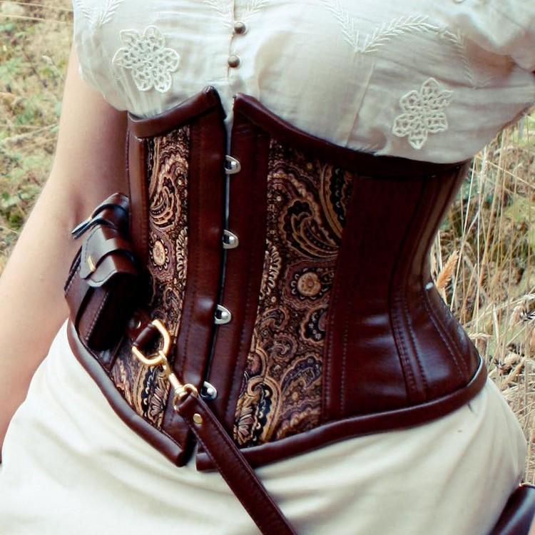 Steampunk Kleidung Accessoires Coursage