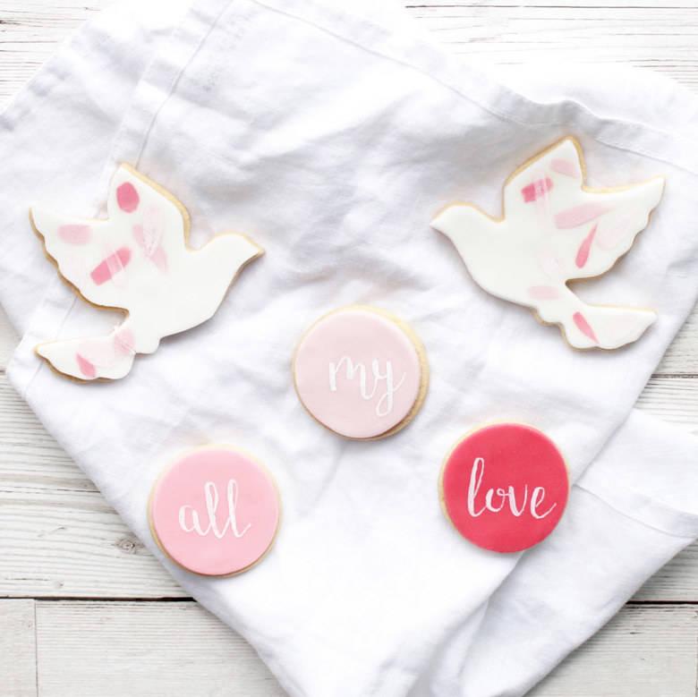Kuchen Geschenk für einen süßen Valentinstag