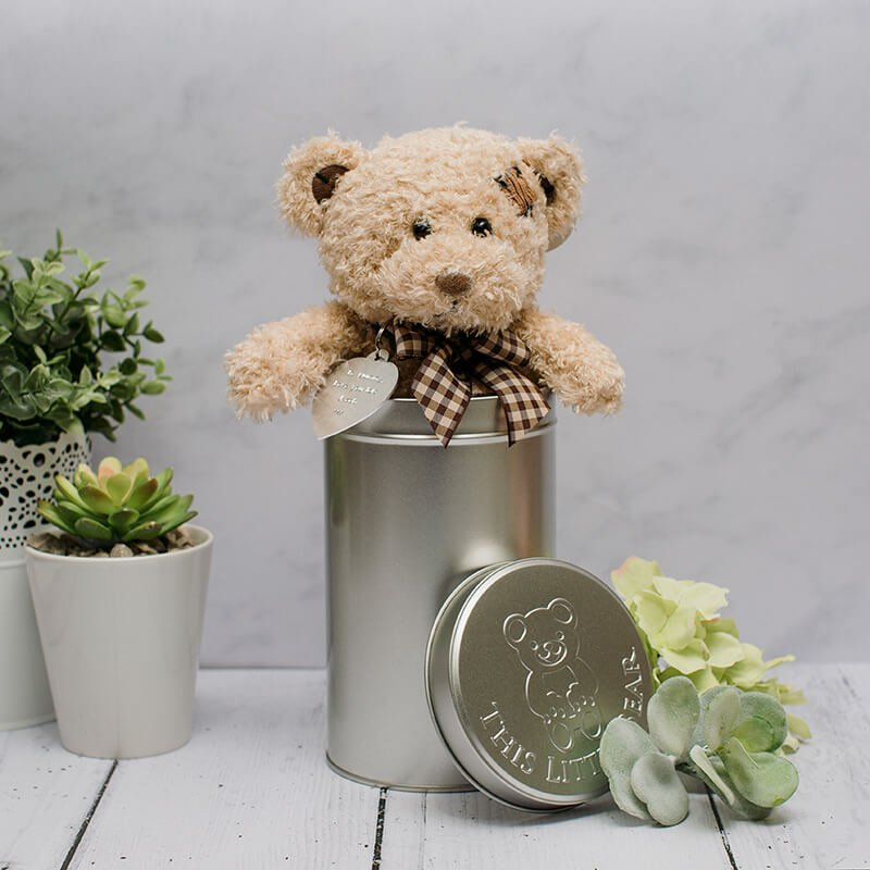Teddybär in Box für Valentinstag Geschenk