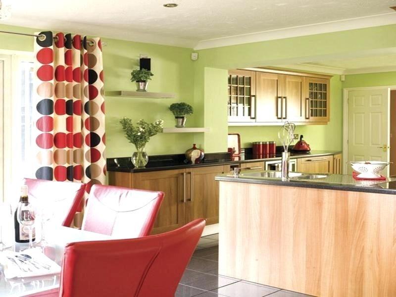 Küche Wandfarbe Pastellgrün Weiß