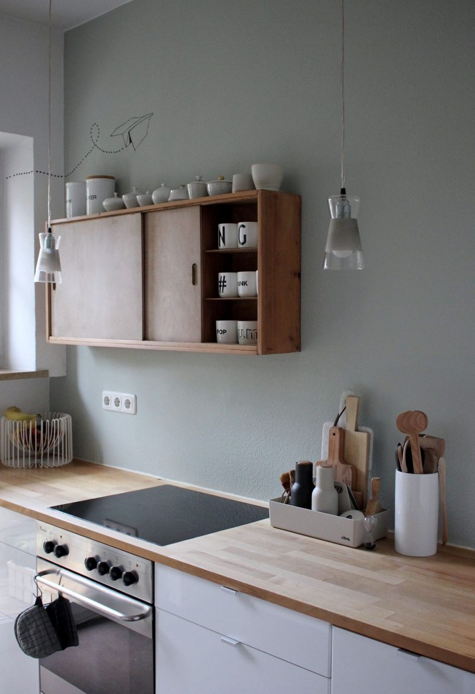 Küche Wandfarbe Salbei natürlich