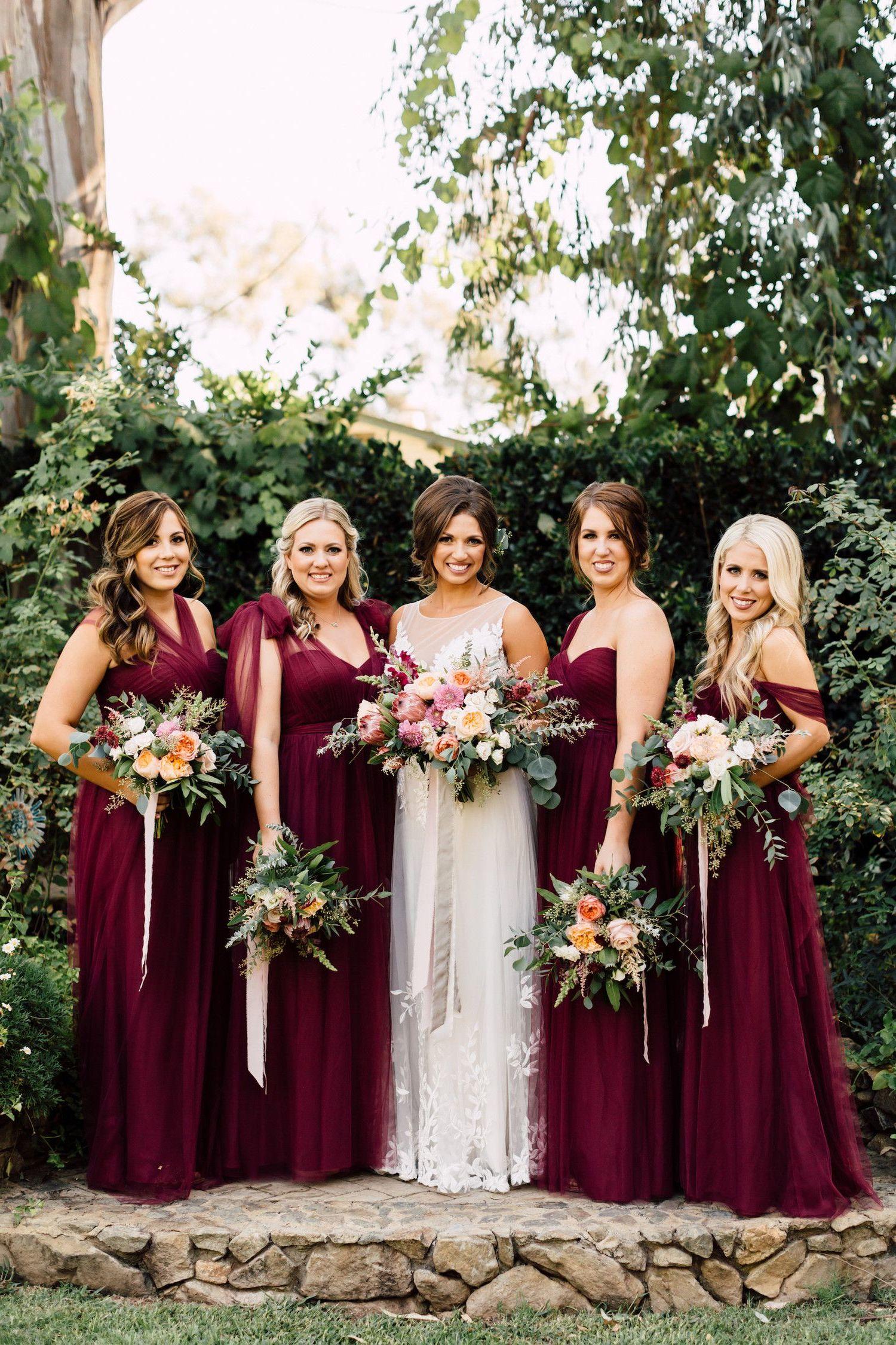 Brautjungfer Kleid Ideen - Haben Sie Mut zur Farbe