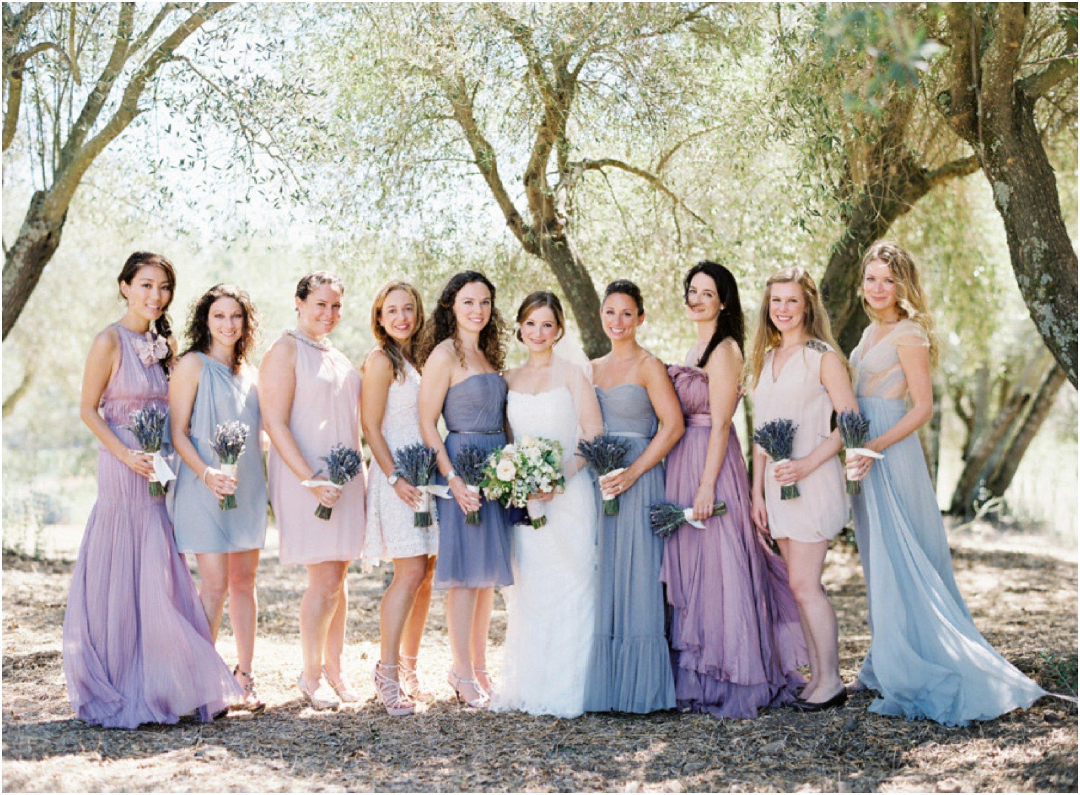 Auf die Länge von Brautkleid Kleid kommt es an – kurz oder lang